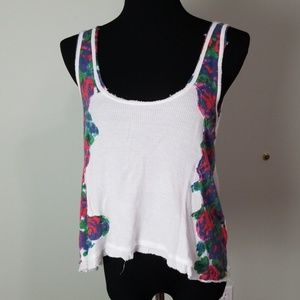 We the Free floral tank top